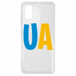 Чехол для Samsung A41 UA Blue and yellow