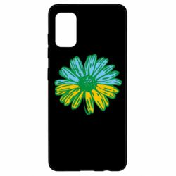 Чехол для Samsung A41 Українська квітка