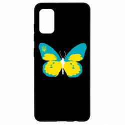 Чохол для Samsung A41 Український метелик