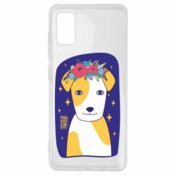Чохол для Samsung A41 Український пес