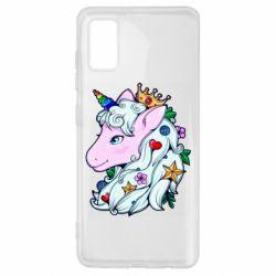 Чохол для Samsung A41 Unicorn Princess