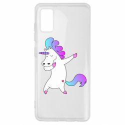 Чехол для Samsung A41 Unicorn swag
