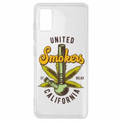 Чохол для Samsung A41 United smokers st relax California
