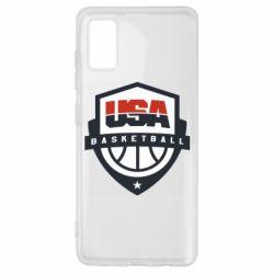 Чехол для Samsung A41 USA basketball