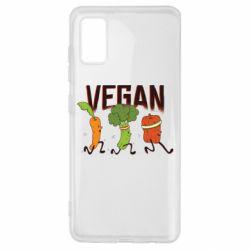Чохол для Samsung A41 Веган овочі