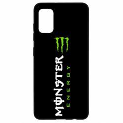 Чохол для Samsung A41 Вертикальний Monster Energy