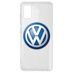 Чохол для Samsung A41 Volkswagen 3D Logo