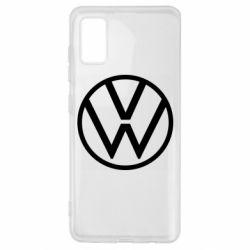 Чехол для Samsung A41 Volkswagen new logo