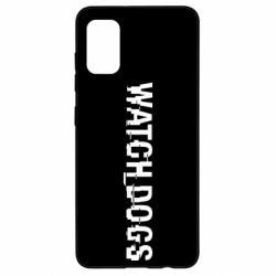 Чехол для Samsung A41 Watch Dogs text