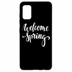 Чохол для Samsung A41 Welcome spring