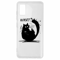 Чохол для Samsung A41 What cat