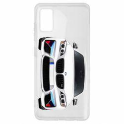 Чохол для Samsung A41 White bmw