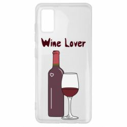 Чохол для Samsung A41 Wine lover