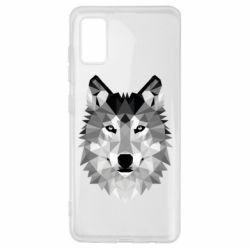 Чохол для Samsung A41 Wolf Art