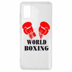 Чехол для Samsung A41 World Boxing