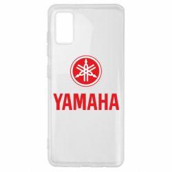 Чехол для Samsung A41 Yamaha Logo(R+W)