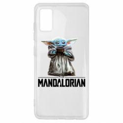Чехол для Samsung A41 Yoda with a cup
