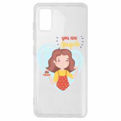 Чохол для Samsung A41 You are super girl
