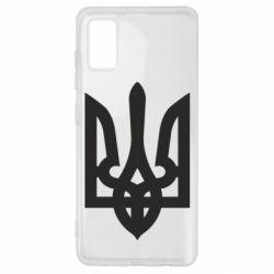 Чехол для Samsung A41 Жирный Герб Украины
