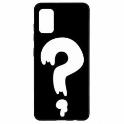 Чехол для Samsung A41 Знак Вопроса