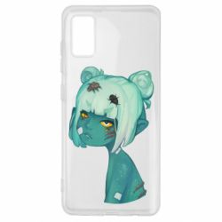 Чохол для Samsung A41 Zombie girl with beetles