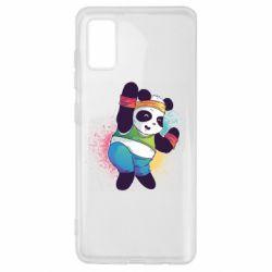 Чохол для Samsung A41 Zumba Panda