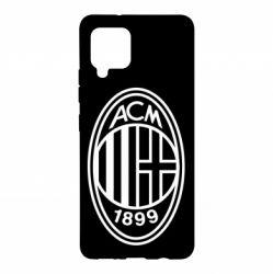 Чохол для Samsung A42 5G AC Milan logo