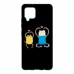Чохол для Samsung A42 5G Adventure time