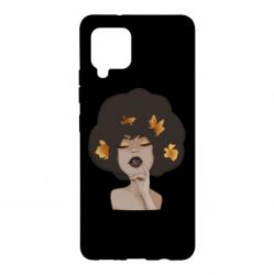 Чохол для Samsung A42 5G Afro girl in autumn shades