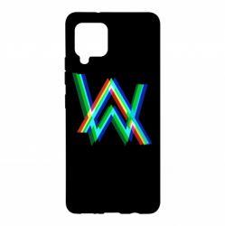 Чохол для Samsung A42 5G Alan Walker multicolored logo
