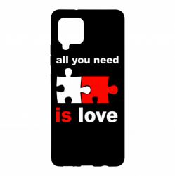 Чохол для Samsung A42 5G All You need is love