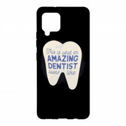 Чохол для Samsung A42 5G Amazing Dentist