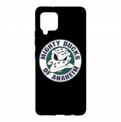 Чехол для Samsung A42 5G Anaheim Mighty Ducks Logo