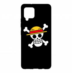 Чохол для Samsung A42 5G Anime logo One Piece skull pirate