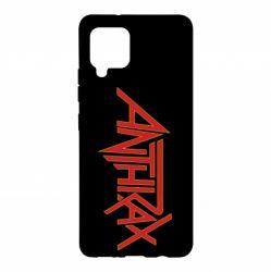 Чохол для Samsung A42 5G Anthrax red logo