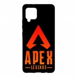 Чохол для Samsung A42 5G Apex legends gradient logo