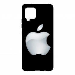 Чохол для Samsung A42 5G Apple Silver