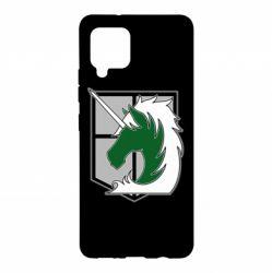 Чохол для Samsung A42 5G Attack on Titan symbol