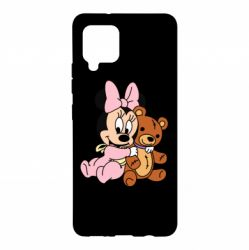 Чохол для Samsung A42 5G Baby minnie and bear