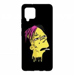 Чехол для Samsung A42 5G Bart as Lil Peep