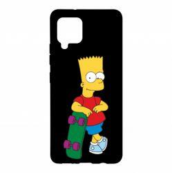 Чохол для Samsung A42 5G Bart Simpson