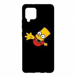 Чехол для Samsung A42 5G Барт Симпсон