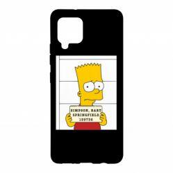 Чехол для Samsung A42 5G Барт в тюряге