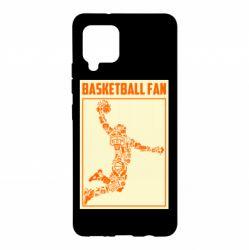 Чохол для Samsung A42 5G Basketball fan