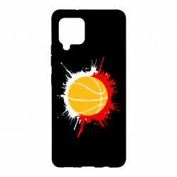 Чохол для Samsung A42 5G Баскетбольний м'яч