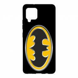 Чехол для Samsung A42 5G Batman Gold Logo