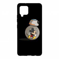Чохол для Samsung A42 5G BB-8 and Mickey Mouse