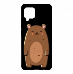 Чехол для Samsung A42 5G Bear with a smile