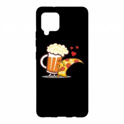 Чохол для Samsung A42 5G Beer and Pizza were kissed