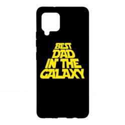 Чехол для Samsung A42 5G Best dad in the galaxy